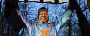 Andre Best nach seinem 1000. Sieg in Dortmund. www.klatuso.com - Klaus-Jörg Tuchel