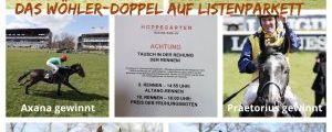 Guter Start in die Black-Type-Saison 2021 für Trainer Andreas Wöhler in Hoppegarten