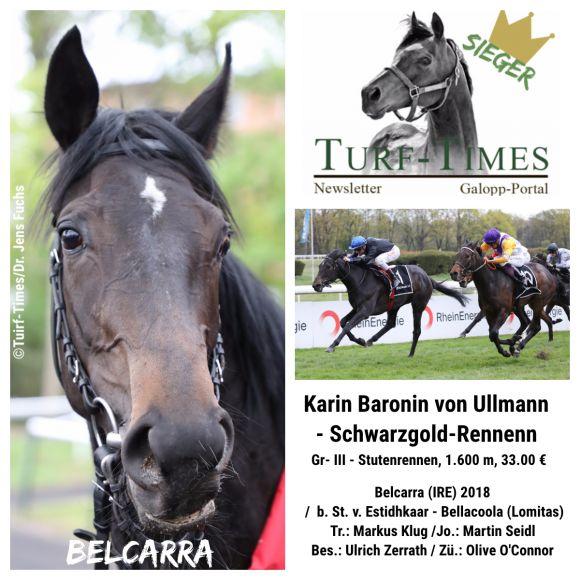 Karin Baronin von Ullmann - Schwarzgold-Rennen