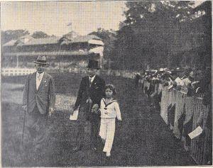 Auf der Rennbahn 1928