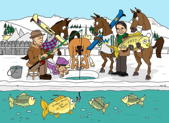 Hofft auf gute Fangtage in St. Moritz