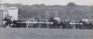 1975- Star Appeal mit Greville Starkey gewinnt überlegen den Prix de l'Arc de Triomphe vor On  My Way und Val de Loire
