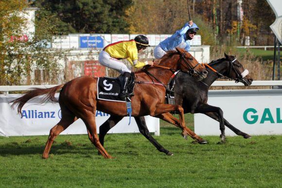 Gr. I-Prermiere für Pferd und Reiter