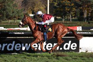 Beeindruckender Sieg im Herzog von Ratibor-Rennen